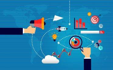 Market Research and Marketing Strategy Concept - Illustration
